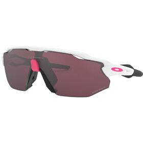 Oakley Radar EV Advancer Brillenglas, polishedhite/prizm road black